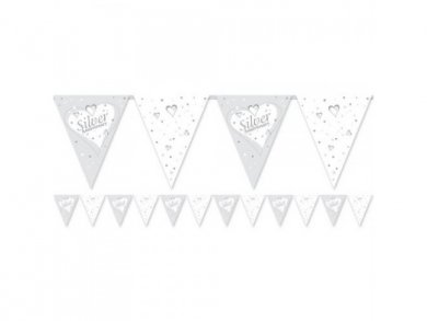 Silver Anniversary Bunting (3,7m)