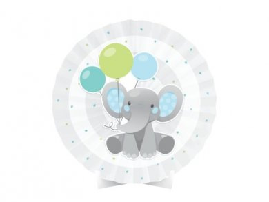 Boy Elephant Centerpiece Table Decoration (40,6cm X 40,6cm)