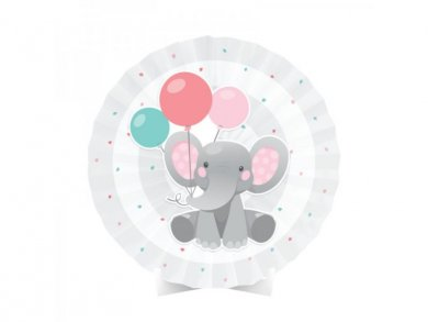 Girl Elephant Centerpiece Table Decoration (40,6cm)