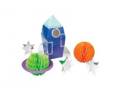 Space Party Centerpiece Table Decorations (6pcs)