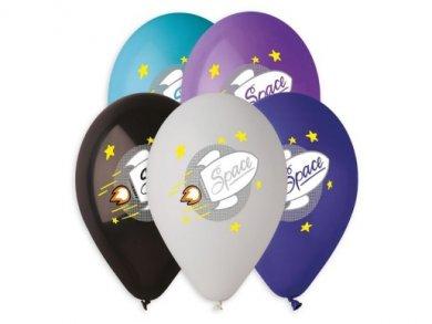 Space Latex Balloons (5pcs)