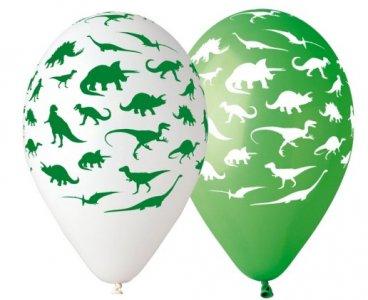 Dinosaurs Latex Balloons (5pcs)