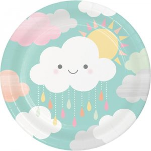 Sunshine Large Paper Plates 8/pcs