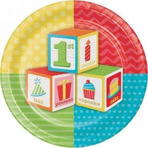 ABC 1st Bday Party - Πρώτα Γενέθλια - Είδη πάρτυ για Αγόρια
