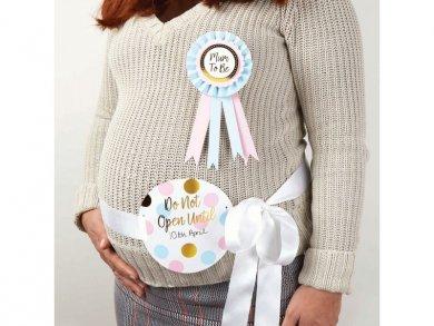 Σετ Κονκάρδα και Κορδέλα για την Κοιλιά Mum to Be