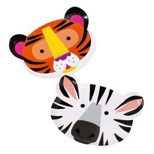 Party Animals Shaped Paper Plates (12pcs)
