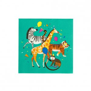 Party Animals Luncheon Napkins (20pcs)
