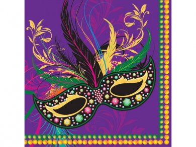 Carnival Luncheon Napkins (16pcs)