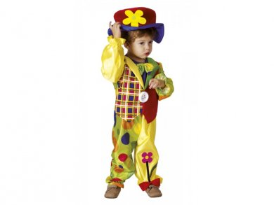 Clown costume 3-4 years old