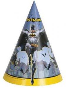 Batman Party Hats 8/pcs