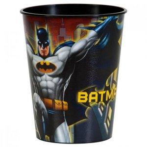 Plastic cup Batman
