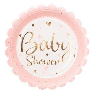 Baby Pink & Gold - Baby Shower Party Supplies