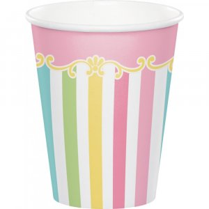 Carousel Paper Cups 8/pcs