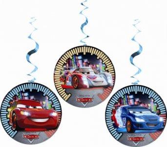 Cars Swirl Decoration 3/pcs