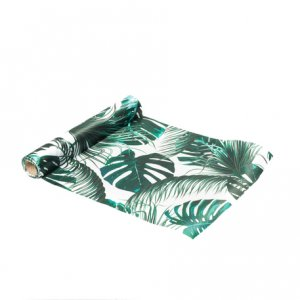 Tropical Chic Satin Table Runner