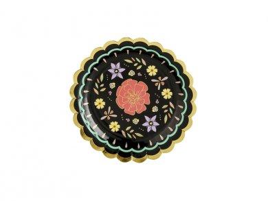 Dia de Los Muertos Small Paper Plates (6pcs)