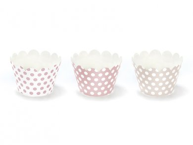 Sweets Collection cupcake wrappers (6pcs)