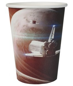 Space Paper Cups 10/pcs