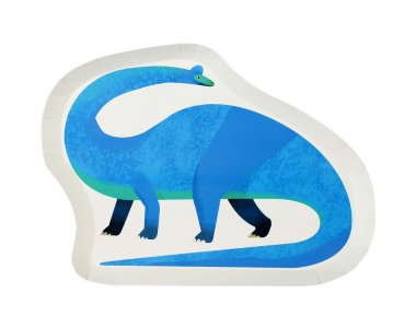 Dinosaurs Party Shaped Paper Plates 12/pcs