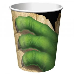Dinosaures paper cups 8/pcs