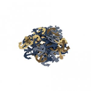 Gold Navy Table Confetti 100/pcs