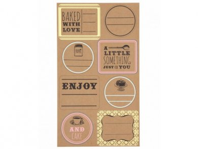 Sticky Labels (48pcs)