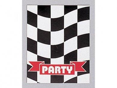 Formula Party Invitations 8/pcs