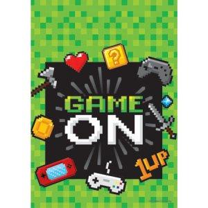 Gaming Party Πλαστικές Σακούλες Για Δώρα (8τμχ)
