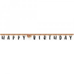 Sprinkle Happy Birthday Garland