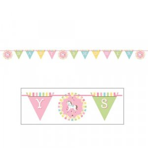 Carousel Baby Shower garland