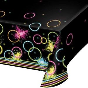 Glow Party Πλαστικό Τραπεζομάντηλο