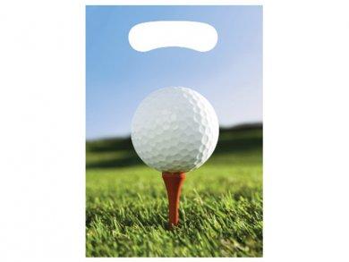 Golf Plastic Loot Bags 8pcs