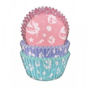 Mermaid Cupcake Cases 75/pcs