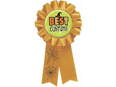 Best Costume Halloween Badge