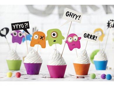 Τερατάκια Σετ Διακόσμησης Για Cupcakes 6τμχ