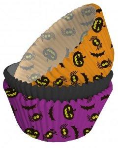 Halloween Θήκες Για Cupcakes 50/Τμχ