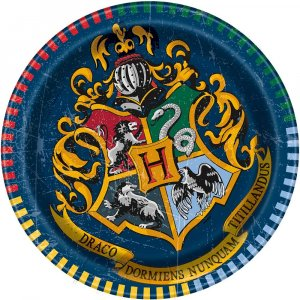 Harry Potter Small Paper Plates 8/pcs