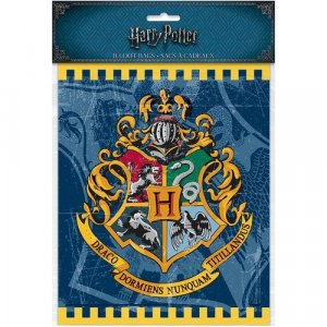Harry Potter Plastic Loot Bags 8/pcs