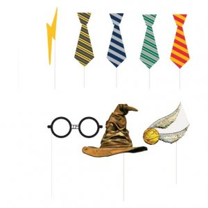 Harry Potter Photo Props 8/pcs