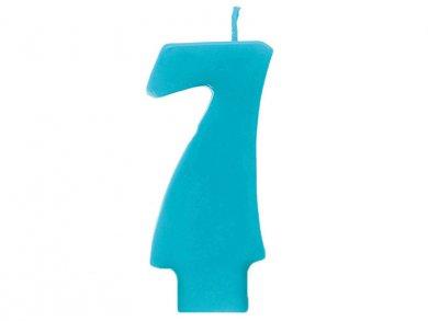 Τυρκουάζ Κερί Αριθμός 7