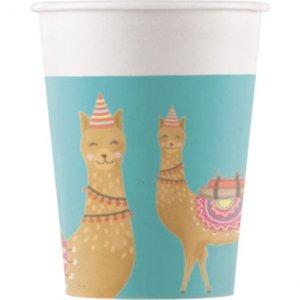 Lama Paper Cups 8/pcs