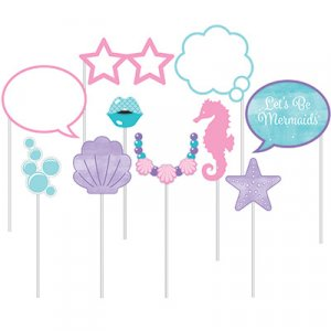 Mermaid Shine Photobooth Props 10/pcs