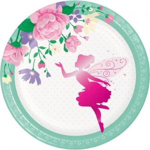 Fairy Sparkle Small Paper Plates 8/pcs