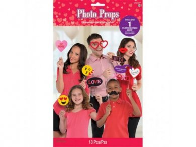 Love and Sweet Photobooth Props (13pcs)