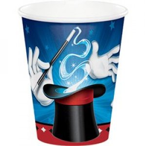 Magic Party paper cups 8/pcs