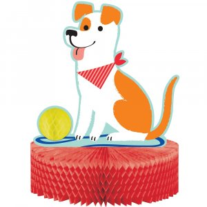 Dog Party Centerpiece Table Decoration