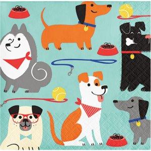 Πάρτυ Με Σκύλους Χαρτοπετσέτες (16τμχ)