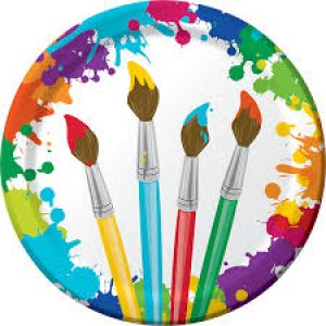 Art Party - Boys party supplies