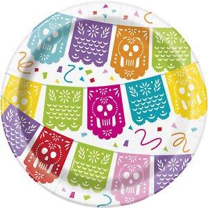 Mexican Pinata Fiesta Μικρά Χάρτινα Πιάτα (8τμχ)