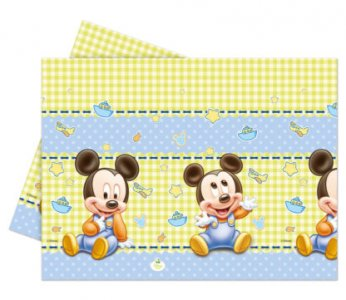 Mickey Baby Plastic Tablecover